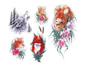 tiere-tattoo-vorlagen-133