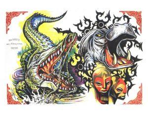 tiere-tattoo-vorlagen-147