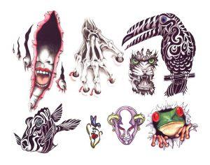 tiere-tattoo-vorlagen-56