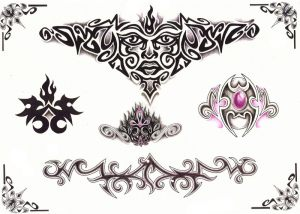 tribal-tattoo-vorlage-160