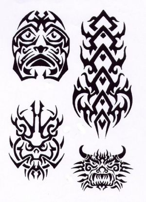tribal-tattoo-vorlage-197